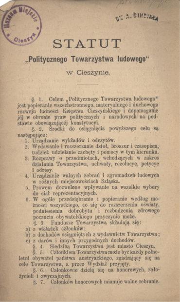 statut-politycznego-towarzystwa-ludowego