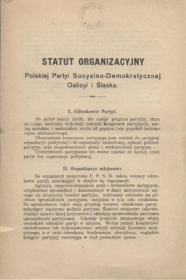 statut-polskiej-partii-socjalno-demokratycznej