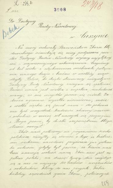 pismo-starszenstwa-zboru-ewangelickiego-w-bledowicach-1
